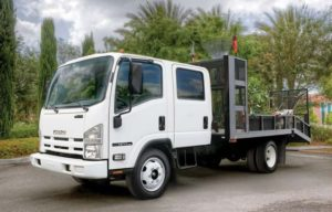 Isuzu NPR-HD Crew Cab Diesel Truck