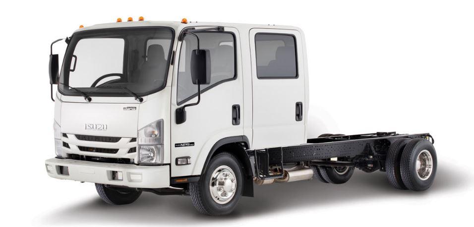 Isuzu NPR HD Crew Cab Gas Truck