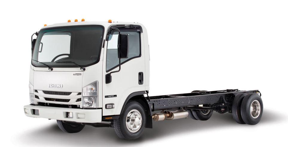 Isuzu NPR HD Standard Cab Gas Truck