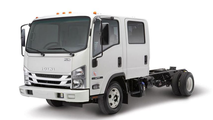Isuzu NPR-XD Crew Cab Diesel Truck