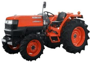 Kubota Tractors Price List In India 2019