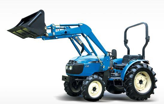 LS I38 Compact Tractor