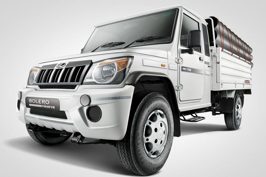 Mahindra Big Bolero Pik-Up Design