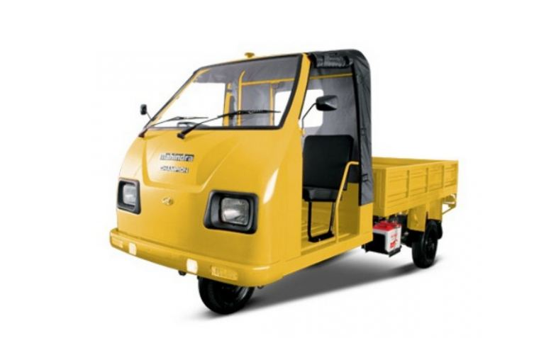 Mahindra Champion Load CNG Three Wheeler 3