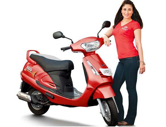 Mahindra Duro DZ Scooter 2