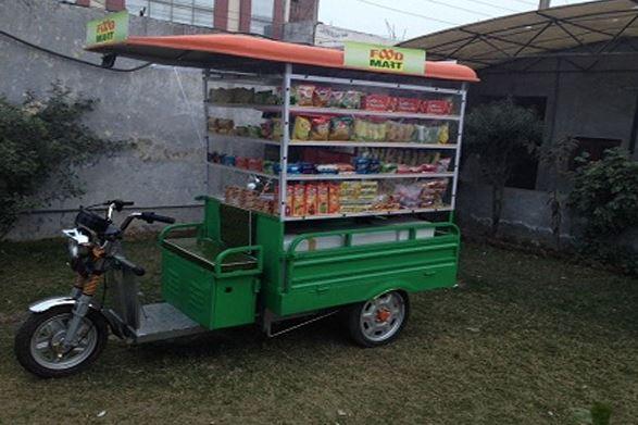 Mayuri Merchandise Cart Cargo Loading E Rickshaw