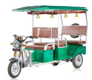 Mayuri Passenger Super Electric Rickshaw