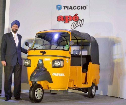 Piaggio Ape City Diesel Auto Rickshaw Price In India Specs