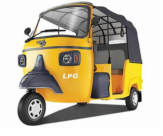 Piaggio Ape City Smart Auto Rickshaw 2