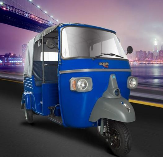Piaggio Ape City Smart Auto Rickshaw 4