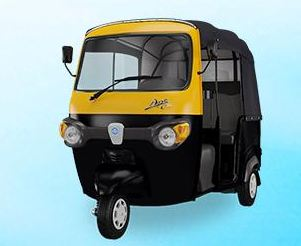 Piaggio Ape City Smart Auto Rickshaw 6