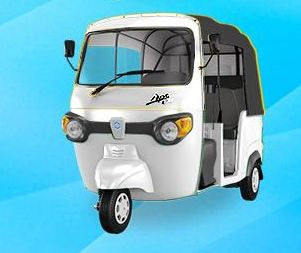 Piaggio Ape City Smart Auto Rickshaw 9