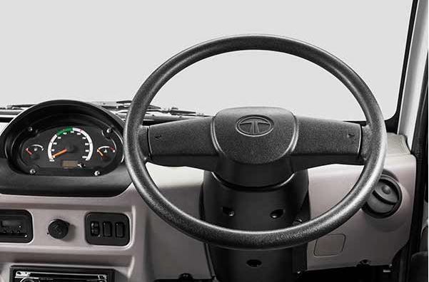 TATA ACE DICOR TCIC Mini Truck interior 1