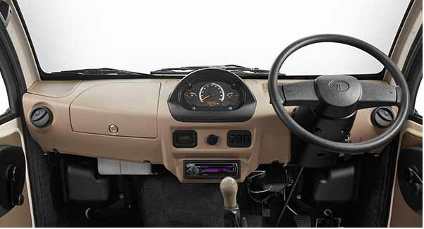 TATA ACE DICOR TCIC Mini Truck interior 3