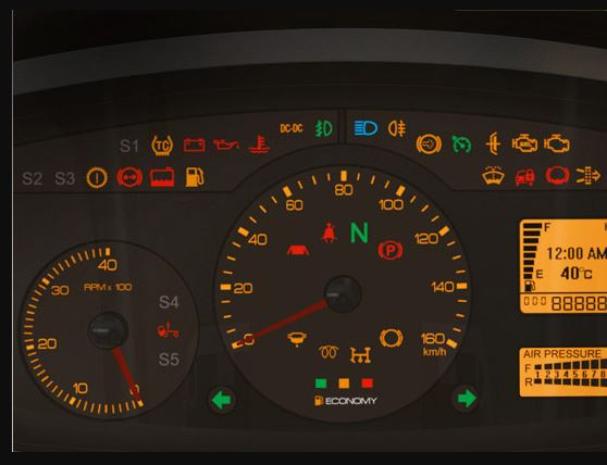 TATA Ultra Light Truck Instrument Cluster