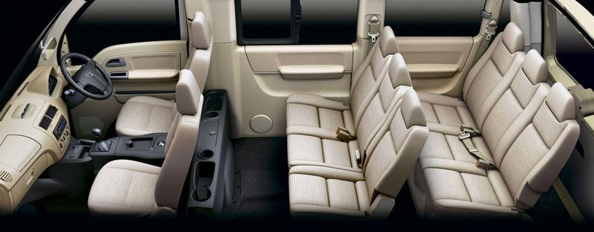 TATA Venture Van seating
