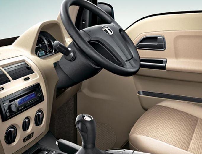 TATA Venture Van steering