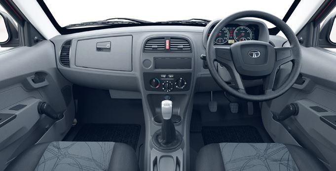 TATA Xenon DICOR Pickup interior