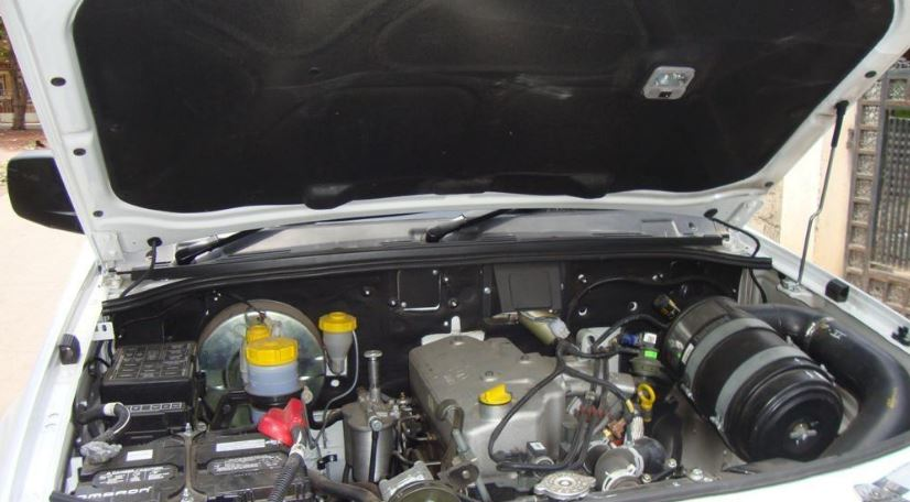 TATA Xenon Pickup engine