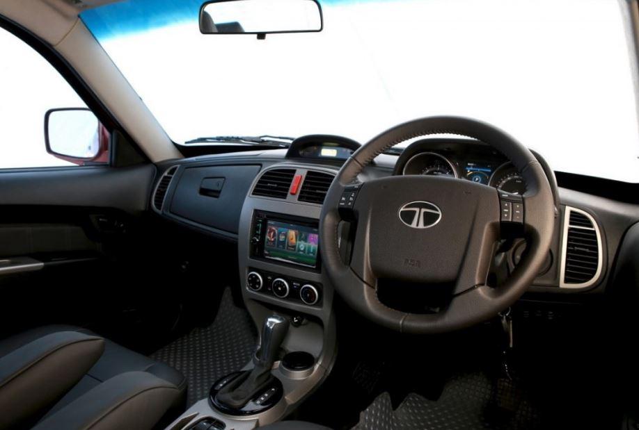 TATA Xenon Yodha Pickup interior
