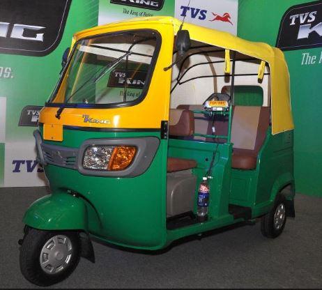 TVS King CNG Petrol Auto Rickshaw