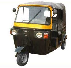 Tuk TuK Double Head Light Auto Rickshaw (Model ZSi) 3