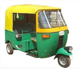 Tuk TuK Single Head Light Auto Rickshaw (Model TS) 1