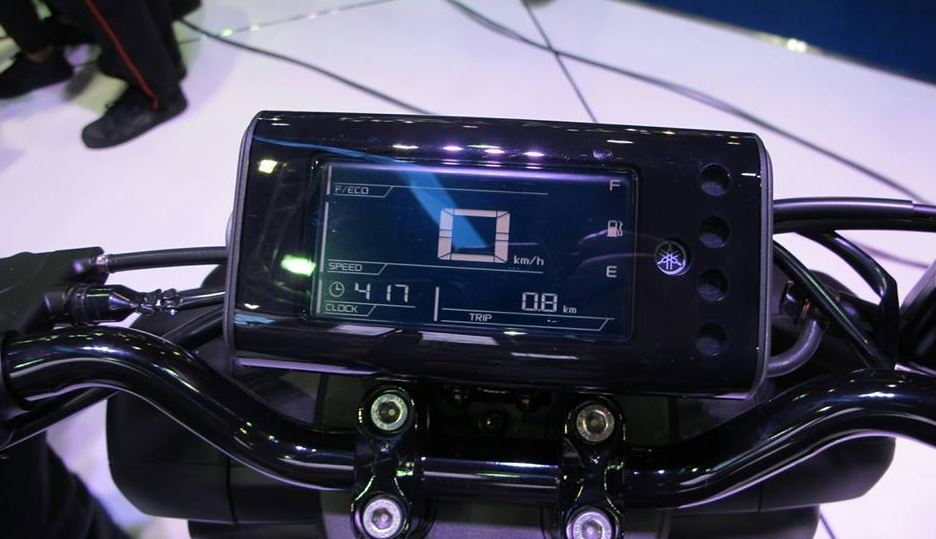 YAMAHA QBIX 125 Scooter digital meter
