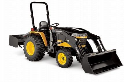 Yanmar LX490 Turbo Open Platform Tractor ROPS price