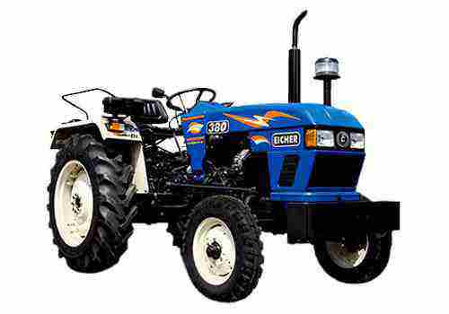 eicher 380 tractor on road price