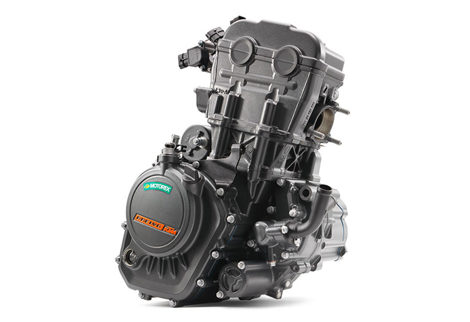 KTM Duke 125 engine