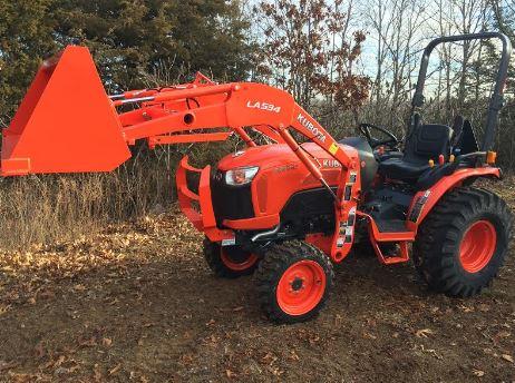 Kubota B2650 Tractor Overview