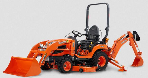 Kubota Tractor Loader Forklift : ※kubota bx d tractor loader backhoe price specs features※