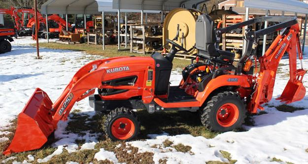 Kubota BX25D Sub Compact Tractor Overview