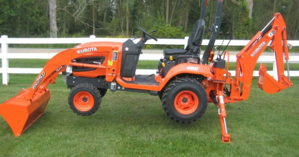 Kubota BX25D tractor key features