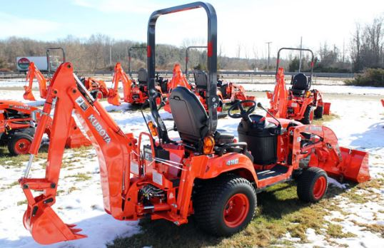 Kubota Tractor Batteries : ※kubota bx d tractor loader backhoe price specs features※