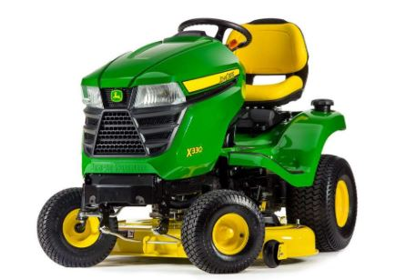 Deere's X330 Lawn Tractor with 42-inch Deck