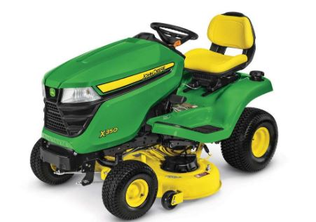 Deere's X350 Lawn Tractor with 42 inch Deck