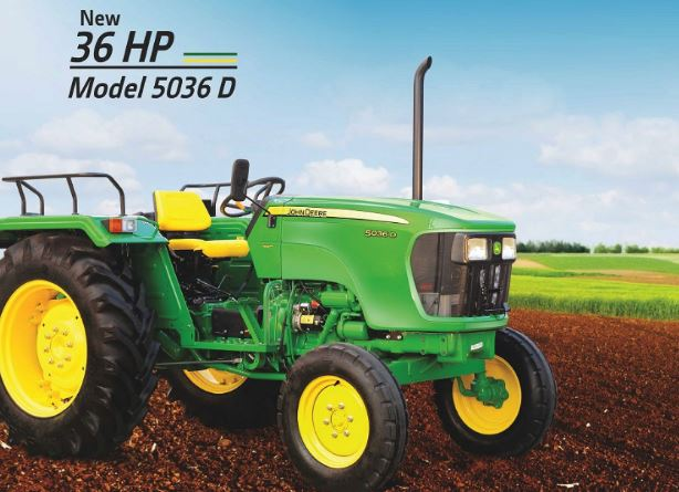 John Deere 5038D Pudding Special Tractor