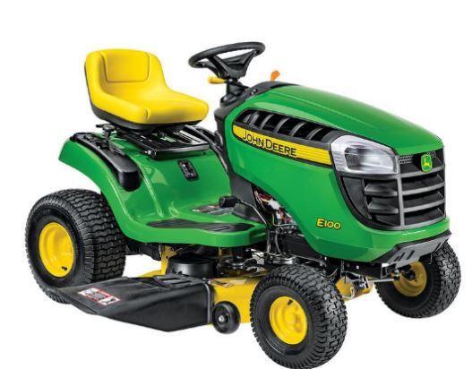John Deere E100 Lawn Mower Price & Specifications
