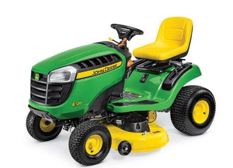 John Deere E120 Lawn Mower