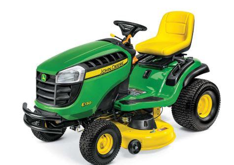 John Deere E130 Lawn Tractor