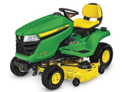 John Deere X350 Lawn Tractor with 48 inch Deck