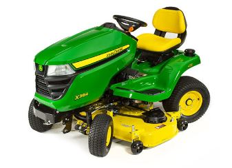 John Deere X384 Lawn Mower Tractor