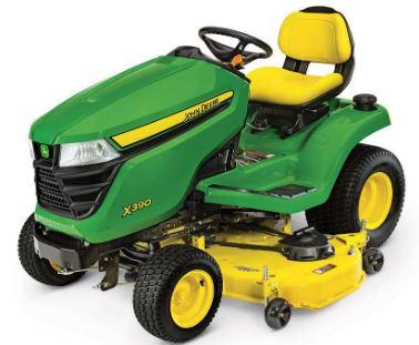 John Deere X390 LawnMower Tractor