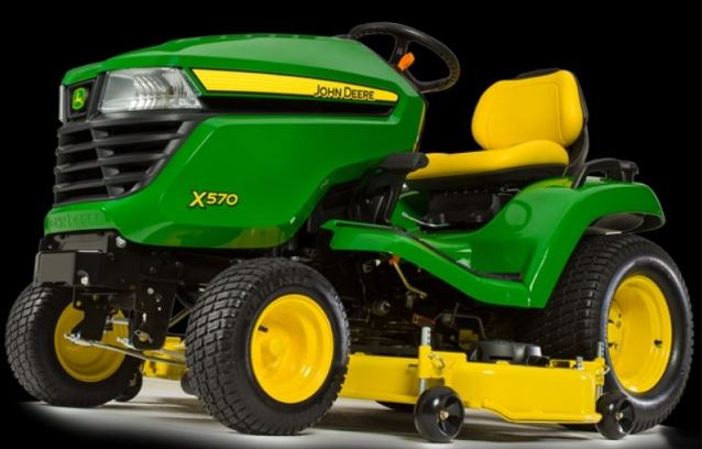 John Deere X570 Lawn Tractor with 48-in. Deck