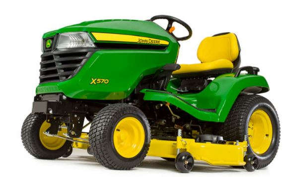 John Deere X570 Lawn Tractor with 54-in. Deck