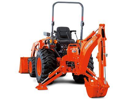Kubota B2650 Tractor BH77 Backhoe