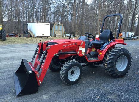 Mahindra1526 hst Mini Tractor