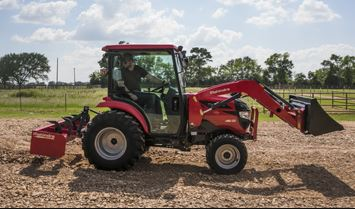 Mahindra 1640 HST Cab Compact Tractor